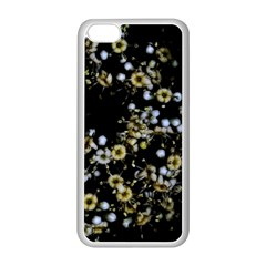 Little White Flowers 2 Apple Iphone 5c Seamless Case (white) by timelessartoncanvas