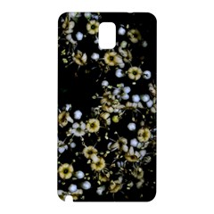 Little White Flowers 2 Samsung Galaxy Note 3 N9005 Hardshell Back Case by timelessartoncanvas