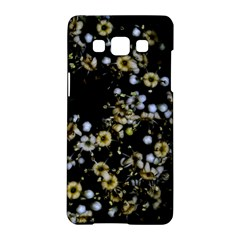 Little White Flowers 2 Samsung Galaxy A5 Hardshell Case  by timelessartoncanvas