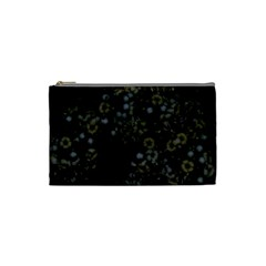 Little White Flowers 3 Cosmetic Bag (small)  by timelessartoncanvas