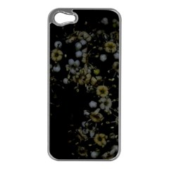 Little White Flowers 3 Apple Iphone 5 Case (silver) by timelessartoncanvas