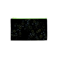 Little White Flowers 3 Cosmetic Bag (xs) by timelessartoncanvas