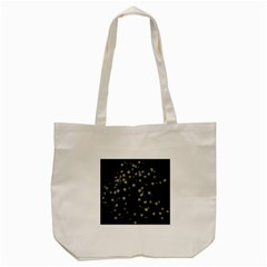 Little White And Green Dots Tote Bag (cream) by timelessartoncanvas