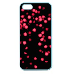 Little Pink Dots Apple Seamless Iphone 5 Case (color) by timelessartoncanvas
