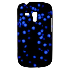 Little Blue Dots Samsung Galaxy S3 Mini I8190 Hardshell Case by timelessartoncanvas