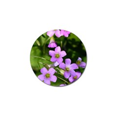 Little Purple Flowers Golf Ball Marker (10 Pack) by timelessartoncanvas