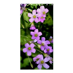 Little Purple Flowers Shower Curtain 36  X 72  (stall)  by timelessartoncanvas