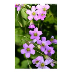 Little Purple Flowers Shower Curtain 48  X 72  (small)  by timelessartoncanvas