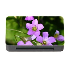Little Purple Flowers Memory Card Reader With Cf by timelessartoncanvas