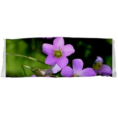 Little Purple Flowers Body Pillow Case Dakimakura (two Sides) by timelessartoncanvas