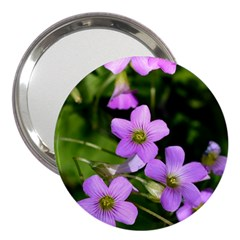 Little Purple Flowers 3  Handbag Mirrors