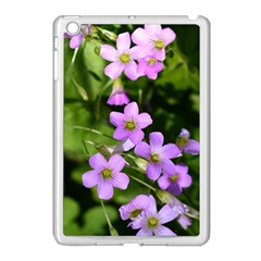 Little Purple Flowers Apple Ipad Mini Case (white) by timelessartoncanvas