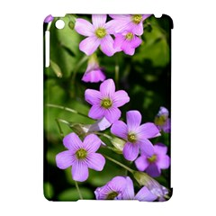 Little Purple Flowers Apple Ipad Mini Hardshell Case (compatible With Smart Cover) by timelessartoncanvas