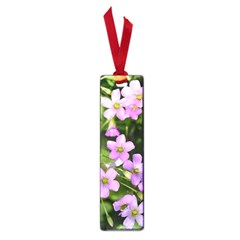 Little Purple Flowers Small Book Marks by timelessartoncanvas