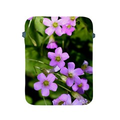 Little Purple Flowers Apple Ipad 2/3/4 Protective Soft Cases by timelessartoncanvas