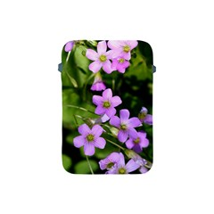Little Purple Flowers Apple Ipad Mini Protective Soft Cases by timelessartoncanvas