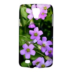 Little Purple Flowers Galaxy S4 Active by timelessartoncanvas