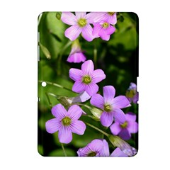 Little Purple Flowers Samsung Galaxy Tab 2 (10 1 ) P5100 Hardshell Case  by timelessartoncanvas