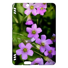 Little Purple Flowers Kindle Fire Hdx Hardshell Case by timelessartoncanvas