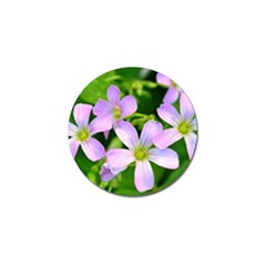 Little Purple Flowers 2 Golf Ball Marker (10 Pack) by timelessartoncanvas