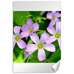 Little Purple Flowers 2 Canvas 24  X 36  by timelessartoncanvas