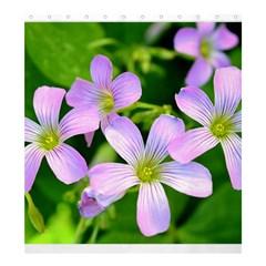 Little Purple Flowers 2 Shower Curtain 66  X 72  (large)  by timelessartoncanvas