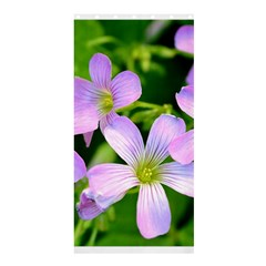 Little Purple Flowers 2 Shower Curtain 36  X 72  (stall)  by timelessartoncanvas