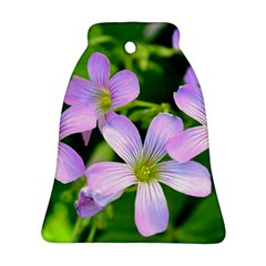 Little Purple Flowers 2 Bell Ornament (2 Sides) by timelessartoncanvas