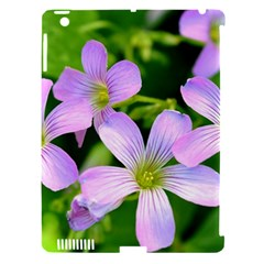 Little Purple Flowers 2 Apple Ipad 3/4 Hardshell Case (compatible With Smart Cover) by timelessartoncanvas