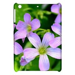 Little Purple Flowers 2 Apple Ipad Mini Hardshell Case by timelessartoncanvas