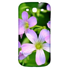 Little Purple Flowers 2 Samsung Galaxy S3 S Iii Classic Hardshell Back Case by timelessartoncanvas