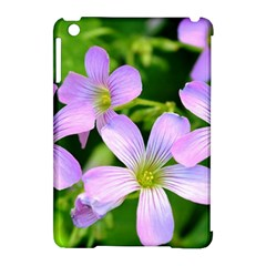 Little Purple Flowers 2 Apple Ipad Mini Hardshell Case (compatible With Smart Cover) by timelessartoncanvas