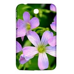 Little Purple Flowers 2 Samsung Galaxy Tab 3 (7 ) P3200 Hardshell Case  by timelessartoncanvas
