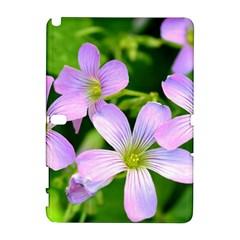 Little Purple Flowers 2 Samsung Galaxy Note 10 1 (p600) Hardshell Case by timelessartoncanvas