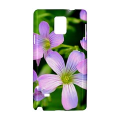 Little Purple Flowers 2 Samsung Galaxy Note 4 Hardshell Case by timelessartoncanvas