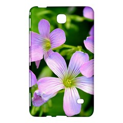 Little Purple Flowers 2 Samsung Galaxy Tab 4 (8 ) Hardshell Case  by timelessartoncanvas