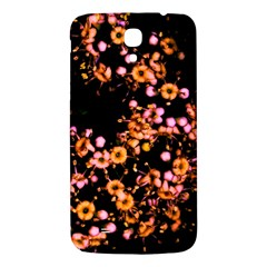 Little Peach And Pink Flowers Samsung Galaxy Mega I9200 Hardshell Back Case