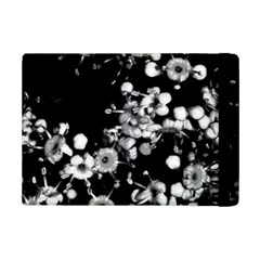Little Black And White Flowers Ipad Mini 2 Flip Cases by timelessartoncanvas
