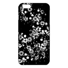 Little Black And White Flowers Iphone 6 Plus/6s Plus Tpu Case by timelessartoncanvas