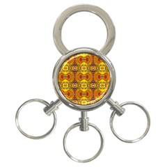 Roof 3 Ring Key Chains