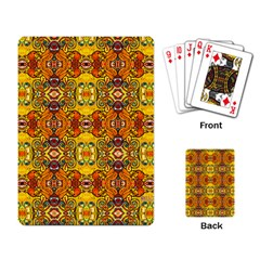 Roof Playing Card