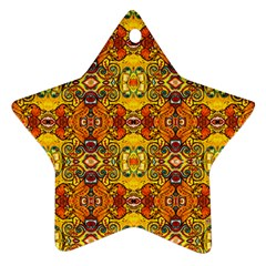 Roof Star Ornament (two Sides)