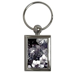 High Contrast Black/white Orchid Charm (rectangle) by lynngrayson
