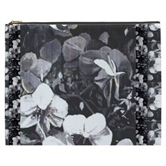 Bbwwhtlmultiorchidorchid Cosmetic Bag (xxxl) by lynngrayson