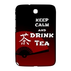 Keep Calm And Drink Tea   Dark Asia Edition Samsung Galaxy Note 8 0 N5100 Hardshell Case