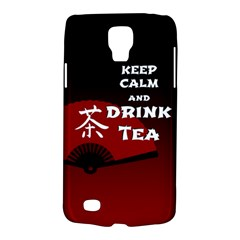 Keep Calm And Drink Tea   Dark Asia Edition Galaxy S4 Active by RespawnLARPer