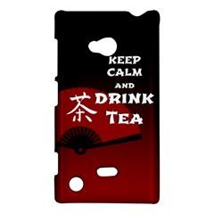 Keep Calm And Drink Tea   Dark Asia Edition Nokia Lumia 720