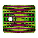 Bright Green Pink Geometric Samsung Galaxy S  III Flip 360 Case