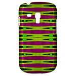 Bright Green Pink Geometric Samsung Galaxy S3 MINI I8190 Hardshell Case