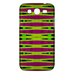 Bright Green Pink Geometric Samsung Galaxy Mega 5 8 I9152 Hardshell Case